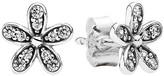 Pandora Earrings - Sterling Silver & Cubic Zirconia Dazzling Daisy Studs