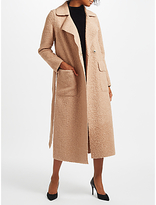 Marc Cain Teddy Faux Fur Coat, Camel