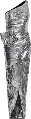 Rachel Gilbert Lilika Mirrored Sequin Gown