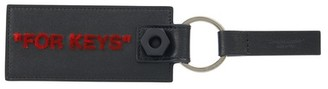 Off-White Quote key ring