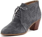 Hush Puppies Carine Dusty Blue Suede