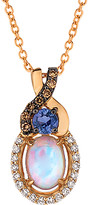 Thumbnail for your product : LeVian 14K Rose Gold 0.68 Ct. Tw. Diamond & Gemstone Pendant Necklace