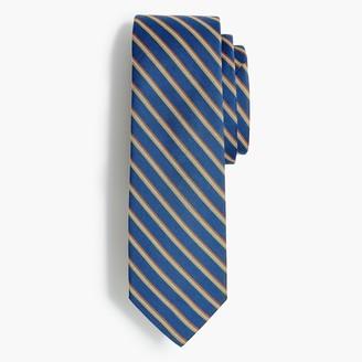J.Crew Striped chambray tie