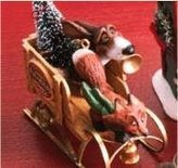 Hallmark Fox And Hound Delivery 2007 Keepsake Ornament Qp1929