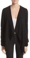 Burberry Women's Tordino Merino Wool & Silk Waterfall Cardigan