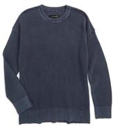 Treasure & Bond Boy's Waffle Knit Sweater