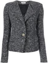 Etoile Isabel Marant single breasted jacket - women - Cotton/Polyamide/Polyester/other fibers - 36