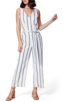 Paige Meade Stripe Jumpsuit