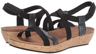 Skechers Brie - Desert Dance (Black) Women's Sandals