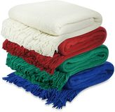 """Pur Cashmere """"Not Your Mother's"""" Throw"""