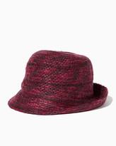 Charming charlie Knit Flip Cloche Hat