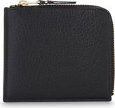 Comme des Garcons Half-zip leather wallet