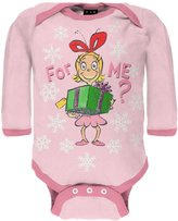 Dr. Seuss For Me Cindy Long Sleeve Baby One Piece - 3- months