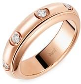 Piaget Possession 18K Rose Gold & Diamond Station Ring