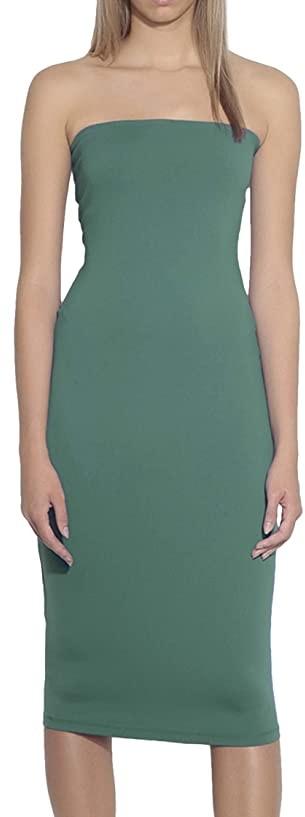 Susana Monaco Long Tube Dress (Edamame) Women's Dress