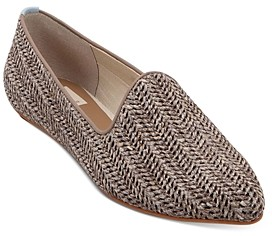 Dolce Vita Women's Gail Snake-Embossed Smoking Slippers