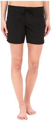 Carve Designs Noosa Short (Black) Women's Shorts