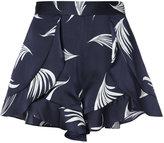 C/Meo wing print shorts - women - Silk - M