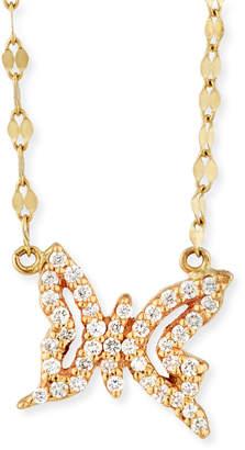 LANA GIRL BY LANA JEWELRY Girls' Diamond Butterfly Pendant Necklace