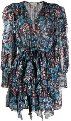 Ulla Johnson Natalia floral print mini dress