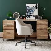 west elm Industrial Modular Desk Set – 2 Box Files