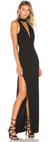 Michelle Mason x REVOLVE Plunge Halter Gown