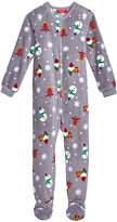 Family Pajamas 1-Pc Happy Gnomes Footed Pajamas, Big Boys' or Big Girls' (4-16), Created for Macy's
