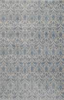 Momeni Rugs KERMAKE-03BLU2030 Kerman Collection, Antique Persian Inspired Traditional Area Rug, 2' x 3'