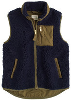 J.Crew Boys' grizzly fleece vest