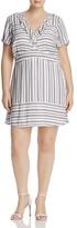 Junarose Short Sleeve Ruffle Neck Dress
