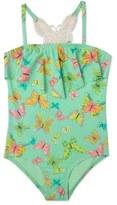 Hula Star 'Dreamy Butterfly' One-Piece Swimsuit (Toddler Girls & Little Girls)