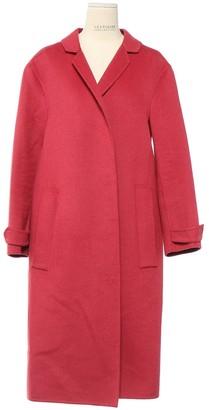 Burberry Pink Rabbit Coat for Women