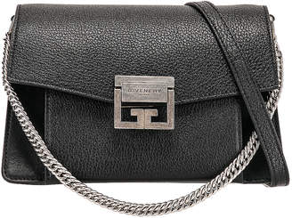 Givenchy Small Leather GV3 in Black | FWRD
