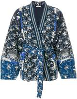 Ulla Johnson tied waist printed jacket