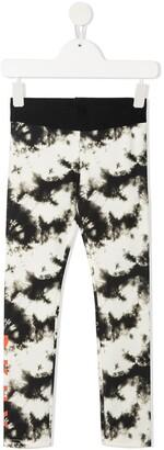 DKNY Tie-Dye Print Leggings