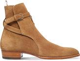 Saint Laurent Hedi Suede Jodphur Boots