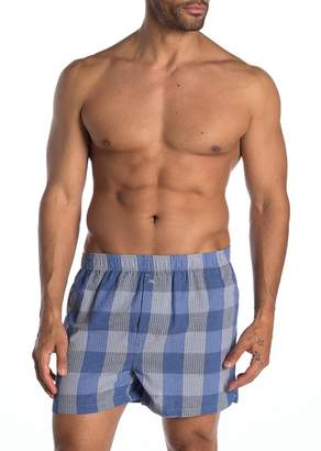 Tommy Bahama Bold Plaid Woven Boxers