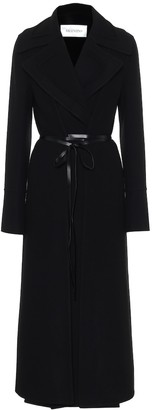 Valentino belted wool coat