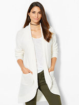 New York & Co. Textured-Knit Cocoon Cardigan