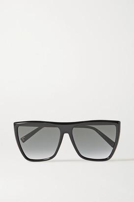 Givenchy Oversized D-frame Acetate Sunglasses - Black