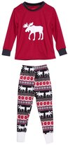 Chinatera Parent-Child Christmas Sleepwear Set Mom Dad Child Deer Clothes Outfit