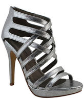 Michael Antonio Thornstein Metallic Strappy Platform Sandals