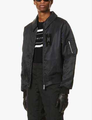 Alyx Oversized shell bomber jacket