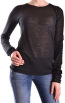 Liviana Conti Women's Black Wool T-shirt.