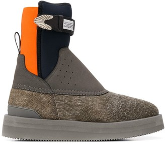 Suicoke Panelled Ankle Boots