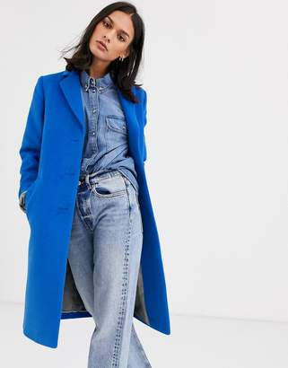 Gianni Feraud tailored coat-Blue
