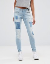Pepe Jeans Alyx Patch Mom Jeans