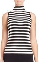 Milly High-Neck Tank Top