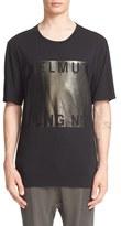 Helmut Lang Foil Graphic T-Shirt