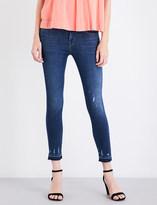 J Brand 835 mid-rise skinny cropped capri jeans
